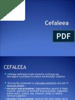 Cefaleea Neurologie Curs