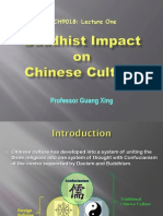 01 - Buddhist Impact on Chinese Culture - An Outline
