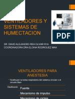 Ventiladores y Sistemas de Humectificacion