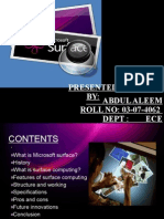 19937147 Microsoft Surface Ppt