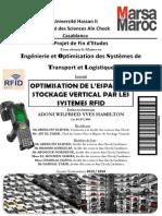 PFE Logistique Optimisation de L_espace de Stockage Vertical Par Les Systèmes RFID
