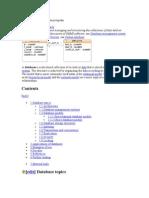 Database Definition