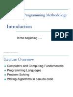 L1 - Introduction