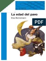 La Edad Del Pavo - Elsa Bornemann