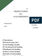 Presentation on Load Shedding
