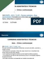 CAT- N.dpenal- Aula on Line 01 -Thais Bandeira-Exercício - Crime- 020914 e 12.09 - Simone (1)
