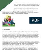 Antropologia Economia Psicologia Sociologia