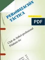Periodizacin Tactica-Entrenamientos Reales