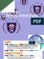 control structure c++
