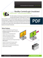 Allen Bradley ControlLogix Unsolicited-datasheet