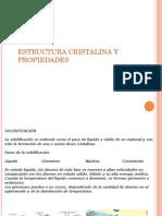 Relacion Estructura Cristalina y Propiedades