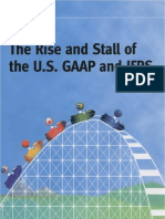 The Rise Stall of the US GAAP IFRS