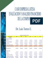 Caso Empresa Latesa Evaluacion y Analisis Financiero de La Compania