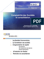 Comptabilité Des Société