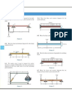 Problems on Shear Forces & Bending Moment Diagrams