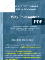 Kuliah01 Why Philosophy