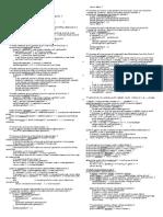 java programming II Final Exam Study Sheets