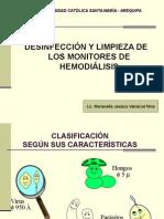 Desinfeccion y Limpieza de Monitores de Hd