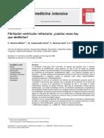 Fibrilación Ventricular refractaria