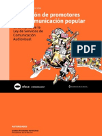 Formacion de Promotores Comunicacion Popular-BAJA