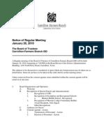 Jan. 28 School Board Agenda