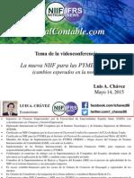 NIIF Para Las PYMES - Luis a. Chávez - GlobalContable