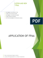 Group 4-Application-Of-fpaa and New Technology of Fpaa