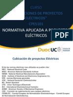 Cpe5101_clase Nº6_normativa Aplicada a Proyectos Elecricos