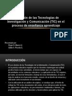 Utilización de Las Tecnologías de Investigación y Comunicación