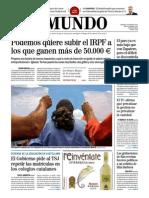 PERIÓDICO  el Mundo 0506