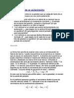 Fisica II - Oscilaciones Acelerometro
