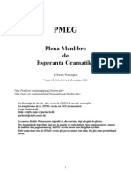 Wennergren Bertilo - Plena Manlibro de Esperanta Gramatiko