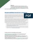 Alcances de La Responsabilidad Social