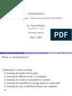 01 Combinatoriek I