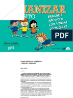 Bloquinho_Educar Para Humanizar o Trânsito_2015_ENSINO FUNDAMENTAL