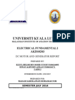 Electrical Fundamental Practical Dc Genarator