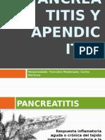 Apendicitis y Pancreatitis