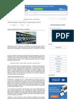 Administração Financeira e Orçamentária (AFO) _ Portal Administração