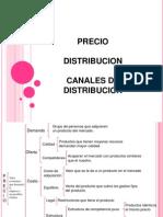 Producto - Distribución - Canales de Distribución
