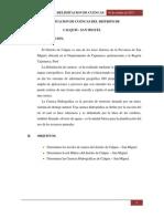 Delimitacion de Cuencas Del Distrito De