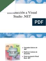 Introduccion a vs .NET
