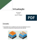 Apresentação-Formas de Virtualização