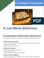 4. Los Libros Históricos