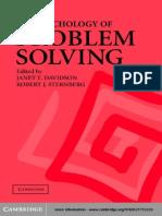 The Psychology of Problem Solving