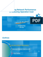 1 ZTE Optimization of Network Performance 2