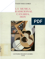 La Música Tradicional Canarias Hoy