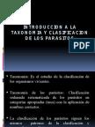 Introduccion a La Taxonomia y Clasificacion de Los Parasitos
