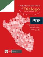Institucionalizando el Dialogo - ONDS 2013.pdf