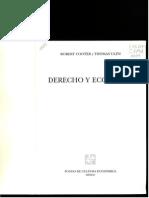 Cooter y Ulen - Derecho y Economía