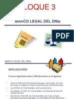 DNIe BLOQUE 3 Marco Legal